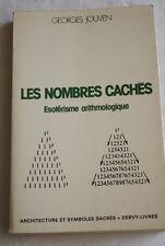 LES NOMBRES CACHES ESOTERISME ARITHMOLOGIQUE JOUVEN 1982