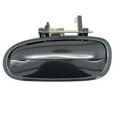 Outside Door Handle - Rear Left Driver Exterior - Smooth Black