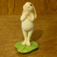 Top Land  Enchanted Story Fairy Garden #4392 YOGA BUNNY NAMASTE POSE STANDING