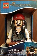 Lego 9003615 Pirates of the Caribbean, Jack Sparrow Alarm Clock - New & Sealed