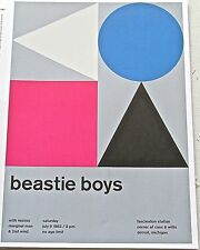Beastie Boys -ROCK AND ROLL BAND MINI POSTER CONCERT  REPRINT  GREAT ARTWORK