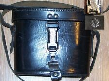 "WW2 German Black Elite BINOCULAR CASE code ""frn44"" and Waffenamt EXCELLENT"