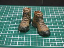 "CUSTOM 1/6 SCALE MALE SHOES/BOOTS (12) FOR 12"" ACTION FIGURE BODY TTM DAM HOTTOY"