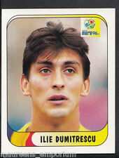 (ZZ) Merlin UEFA Euro 1996 Football Sticker No 142 - Ilie Dumitrescu