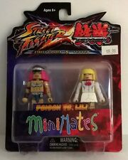 Minimates Street Fighter X Tekken Poison vs. Lili.