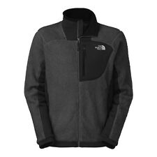 NEW MENS NORTH FACE AUTHENTIC GRIZZLY 2 FLEECE JACKET ASPHALT LARGE NWT