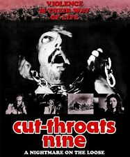 CUT THROATS NINE Code Red BLU-RAY Gory HORROR Western CUTTHROATS 9 HATEFUL EIGHT