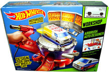 Hot Wheels Airbrush Auto Designer Workshop Set Playset MIB Design Your Own Car!