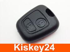 2Tasten Auto Schlüssel Gehäuse für PEUGEOT 106 107 206 207 306 307 BOXER EXPERT