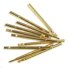 10pcs R100-4S Spring Test Probes Pogo Pin Receptacle 17.5mm/3A for P100 Series