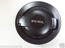 08-16 Dodge Challenger Matte Black Fuel Filler Door Vapor Edition 68250120AA OEM