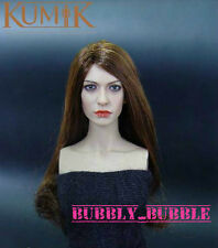 KUMIK Anne Hathaway 1/6 Scale Head Sculpt For Hot Toy Phicen SHIP FROM USA
