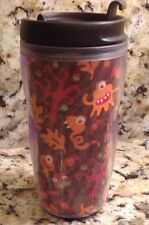 2004/2006 Starbucks Tumbler, Monster, Scary, 8 oz