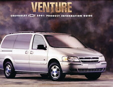 2001 Chevrolet Venture Van 16-page Product Information Guide Brochure