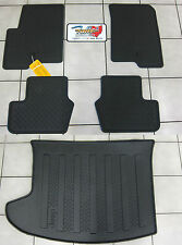 2007-2016 Jeep Compass Patriot Rubber Slush Floor Mats & Cargo Tray Liner Mopar