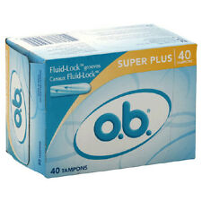 o.b. Super Plus Absorbency Tampons - 40 ct