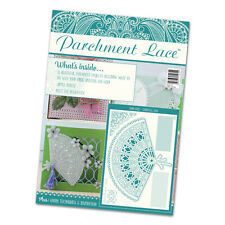 Tattered Lace - PARCHMENT LACE MAGAZINE - Issue 1 + Free Oriental Fan Grid