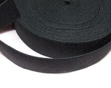 3 Metre Strong Black Woven Elastic Tape/Ribbon 48 mm Wide Sewing Fastenings Belt