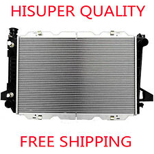 1451 Radiator For Ford Fits Bronco F-150 F-250 F-350 F-53 5.0 5.8 7.5 V8 2 Row