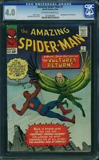 AMAZING SPIDER-MAN #7 CGC 4.0 2nd Vulture!