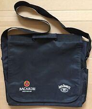 Original 2006 Bacardi & Jack Daniel's Embroidered 'Messenger' Shoulder Bag