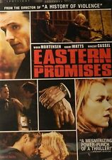 David Cronenberg's EASTERN PROMISES (2007) Viggo Mortensen Naomi Watts SEALED