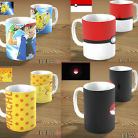 POKEMON GO MUG - DIFFERENT DESIGNS - CAN BE PERSONALISED WITH NAME