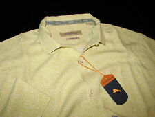 Tommy Bahama Camp Shirt Marseille Continental 100% Silk New Large L T314121