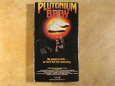 PLUTONIUM BABY THRILLER UNRATED VHS RARE! 1ST EDITION RELEASE 1987 TRANS WORLD