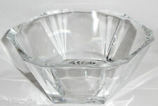 Fifth Avenue Faceted Crystal Chloe 5.9 inch Lead Free Bowl - New in Box