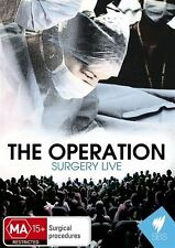 The Operation - Surgery Live (DVD, 2010) - New - Region Free