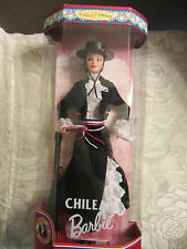 Mattel Chilean Barbie - Dolls of the World Collector Ed  NRFB  18559  (5R)