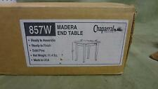 Chaparral 857w wooden end table night stand dresser BRAND NEW IN ORIGINAL BOX