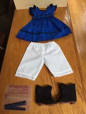 American Girl   Addy's Meet Outfit  With Boots NEW !!!!!!!!