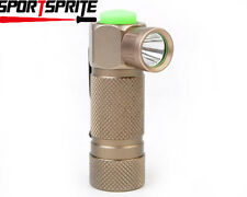 TrustFire CREE Q5 280 Lms 3 Mode 0.8-4.2V CR123A/16340 Flashlight W/Clip Bronze