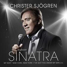 CD Christer Sjögren,Vikingarna, schwedisch, Sjunger Sinatra, 2014, NEU