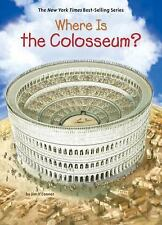 Where Is... ?: Where Is the Colosseum? by Jim O'Connor (2017, Hardcover)