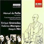 Maneul de Falla plays 7 Canciones Populares Españolas, Harpsichord Concerto...