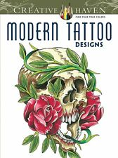 Creative Haven Modern Tattoo Designs Coloring Book (Paperback)