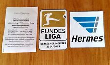 2014-15 BAYERN MUNICH Bundesliga Champions DEKOGRAPHICS Football Badge Patch Set