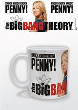 Bazinga Official The Big Bang Theory Knock Knock Penny Mug Warner Bros New