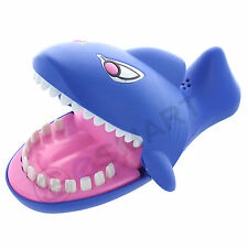 Shark Dentist Game for kids Evil Laughter Sound, Glowing Eyes Party Novelty Kid