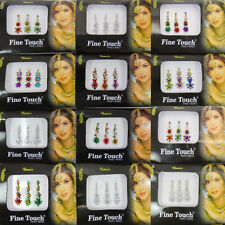 Pack Of 12 Multicolor Assorted Bindis Traditional Tattoos Bridal Tikka 5305
