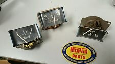 1946 1947 1948 CHRYSLER TOWN & COUNTRY CLUSTER GAUGE AMP OIL FUEL MOPAR WOW TNC