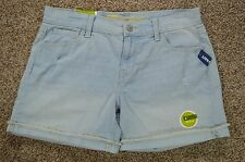 Old Navy The Sweetheart Women's Light Blue Distressed Cuffed Denim Jean Shorts 4