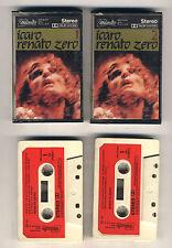 2 Mc RENATO ZERO Icaro OTTIMO Vol. 1 e Vol. 2 - Prima edizione 1981 Zerolandia