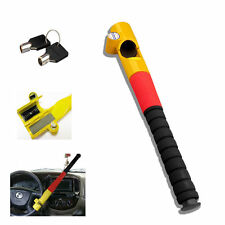 HEAVY DUTY ANTI THEFT BASEBALL BAT STYLE STEERING WHEEL LOCK WITH 2 KEYS 81258c