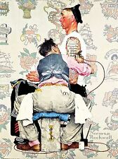 PAINTINGS PORTRAIT TATTOO PARLOUR SAILOR INK ARTIST USA ROCKWELL POSTER LV3413