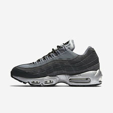 Nike Air Max 95 Premium Grey Black Men's SIZE UK 9 ,US 10, EU 44 ) 2016