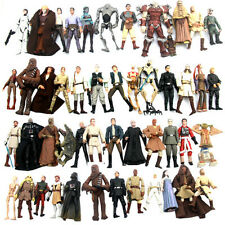 Random 10PCS STAR WARS 3.75'' Clone Trooper droid yoda Action Figure Toy Gift
